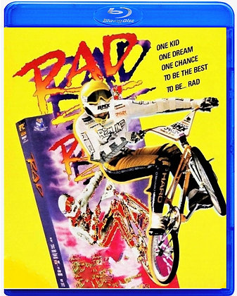 RAD [Blu-ray, 1986] HD REMASTER Bill Allen, Bart Conner