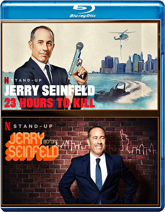 Jerry Seinfeld-  23 Hours To Kill/ Jerry Before Seinfeld [2020/Blu-ray] Stand-Up