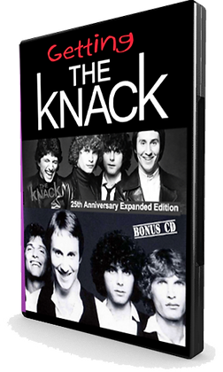 Getting the Knack DVD front cover in case image