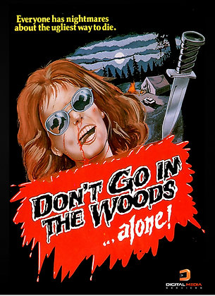 Don't Go In The Woods (1981, DVD) Horror