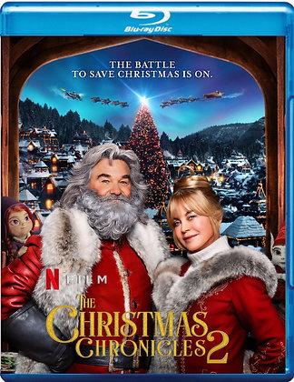 The Christmas Chronicles 2 [2020 Blu-ray] Kurt Russell-Goldie Hawn