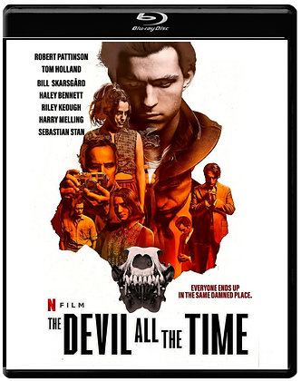 THE DEVIL ALL THE TIME (Blu-ray) 2020 Horror/Thriller