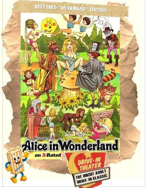 Alice In Wonderland[1976] Adult Comedy Musical - Uncut - HD Blu-Ray
