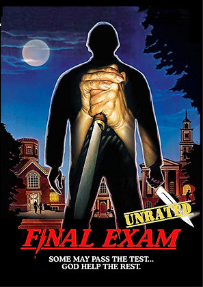 FINAL EXAM - UNRATED [DVD] Horror/Slasher
