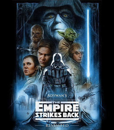 Star Wars:THE EMPIRE STRIKES BACK REVISITED [ADYWAN EDIT] Blu-ray Case/cover