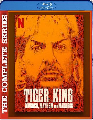 TIGER KING: Murder, Mayhem & Madness [2020 Complete Series] 2 Blu-ray