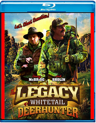 The Legacy of the Whitetail Deer Hunter [Blu-ray] Comedy