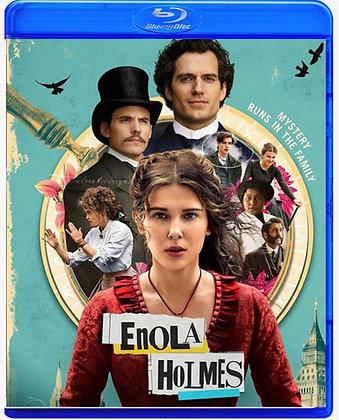 Enola Holmes [2020, Blu-ray] Adventure Comedy Mystery