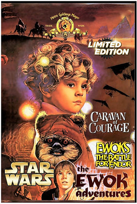 Star Wars Ewok Adventures: Caravan Of Courage/ The Battle For Endor [2-DVD]