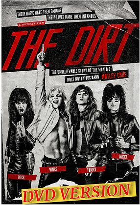 The Dirt - Mötley Crüe bio-pic [DVD VERSION] [2019]