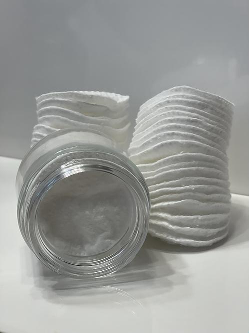 Premium Exfoliating Cotton Pads