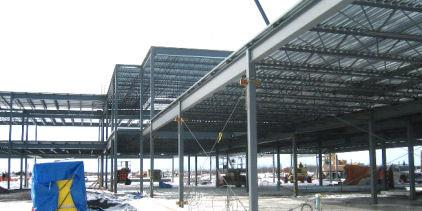 Casselman school steelwork