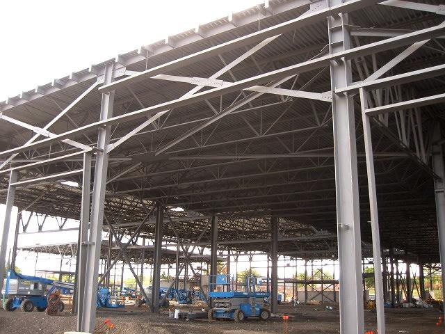 OC Transpo Garage steelwork