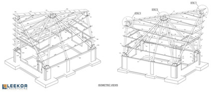 Solar House e-drawing - two angles