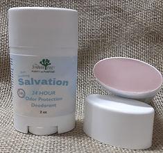 Salvation Deodorant, organic, no aluminum deoodorant, 24 hour protection