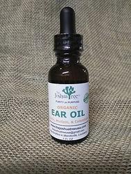 Herbal Ear Oil, organic ear oil, herbs, mullein, calendula, olive oil, garlic, wax build up, ear infections, organic, all-natural