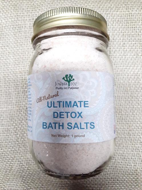 The Ultimate Detox Bath Salts                (16 ounces in a glass jar)