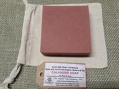 Calamine Goat Milk Soap, calamine, eczema, psoriasis, skin care