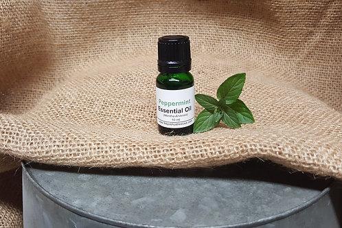 Organic Peppermint Essential Oil - 10ml