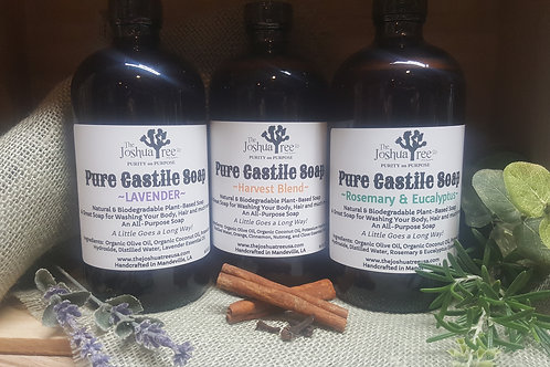 Pure Castile Soap - Harvest Blend