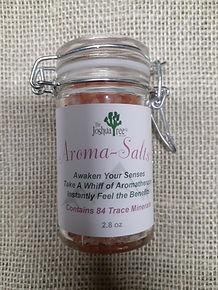 Aroma-Salts, aromatherapy, pink himalayan salts, breath, congestion relief, essential oils, all-natural, awaken senses