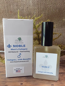 Noble Men's Cologne, all-natural, natural cologne, essential oils, organic