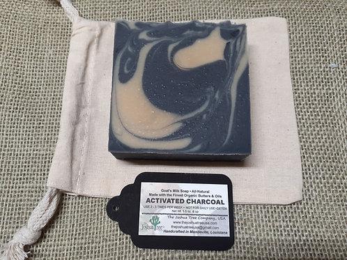 """""""Activated Charcoal - Detox"""" Goat Milk Soap (5.5 oz.)"""
