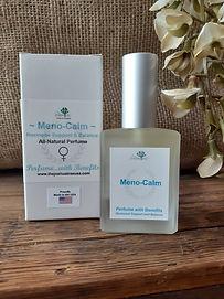Meno-Calm Women's Perfume, all-natural, organic, essential oils, menopause, hormonal, hormone balance, perfume, essential oils