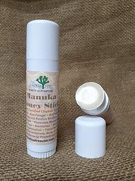 Manuka Honey Stick, organic, all-natural, antibiotic, lip care, skin care, eczema, rash