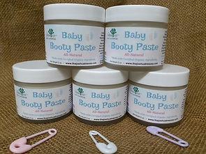 Baby Booty Paste, baby skin care, Boudreaux's Butt Paste, diaper cream, rash, all-natural, organic