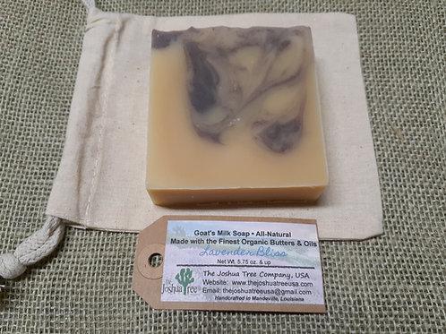 """""""Lavender Bliss"""" Goat Milk Soap (5.5 oz bar)"""