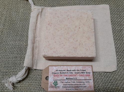 """""""Salt of The Earth"""" Goat Milk Salt Bar (5.5 oz.)"""