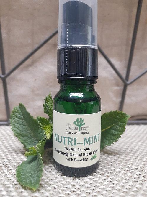 """Nutri-Mint"" Liquid Breath Mint / Beverage Enhancer"