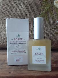 Agape Uni-Sex Perfume all-natural perfume, essemtial oils