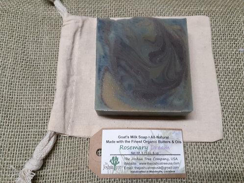 """""""Rosemary Dream"""" Goat Milk Soap (5.5 oz.)"""