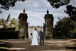MARIAGE AU CHATEAU SAINT-GEORGES A SAINT EMILION