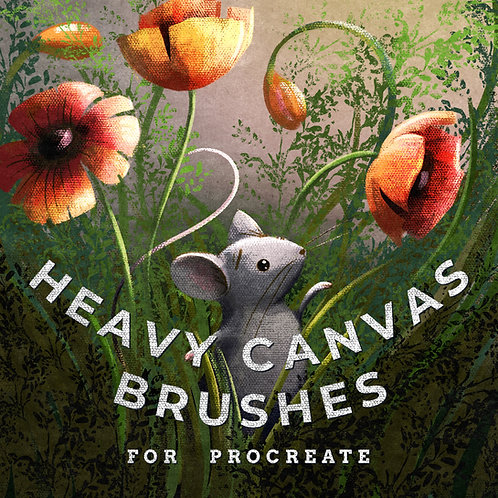 HEAVY CANVAS BRUSHES