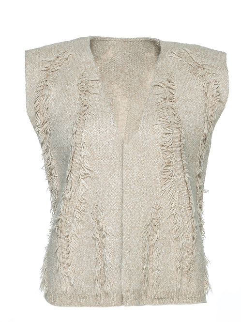 FTS04 - Ladies' Knitted Waistcoat