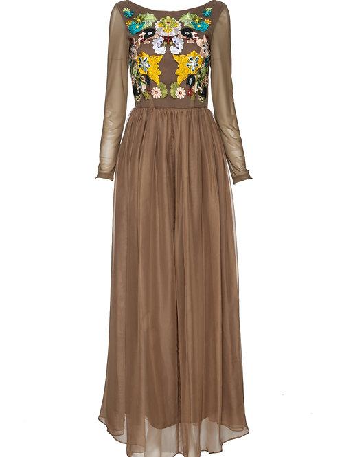 FTW18 - Ladies' Woven Maxi Dress
