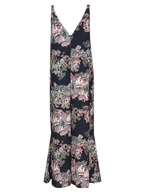 FTW34 - Ladies' Woven Printed Jumpsuit