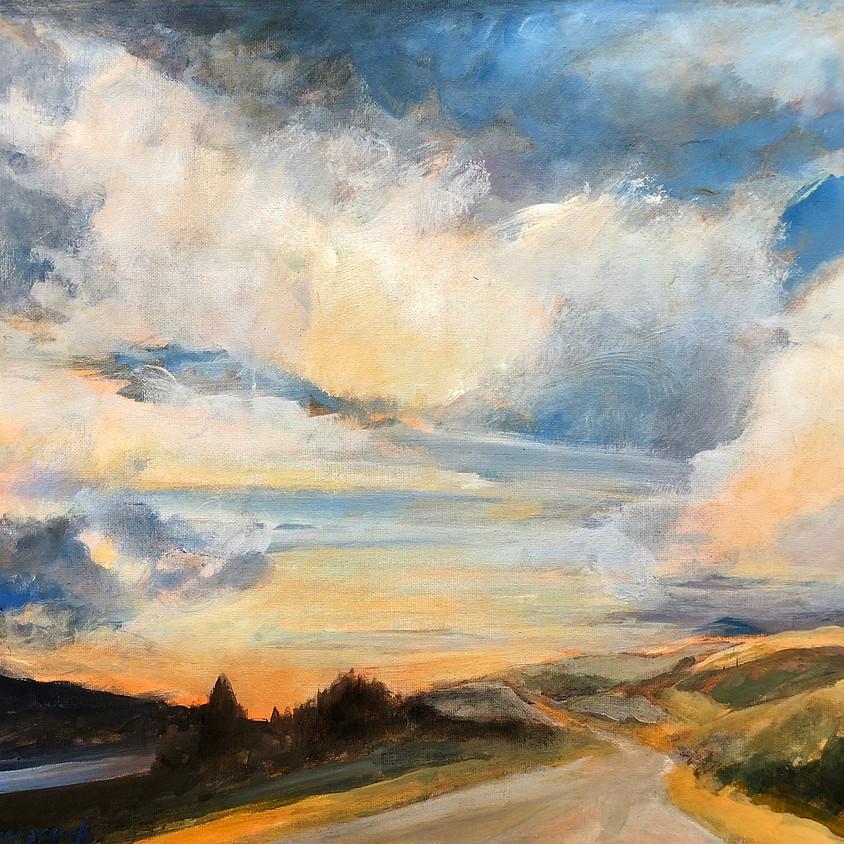 Bozeman Plein Air Landscape Painting