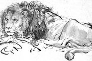 1200px-Rembrandt-A-Lion-Lying-Down-20706