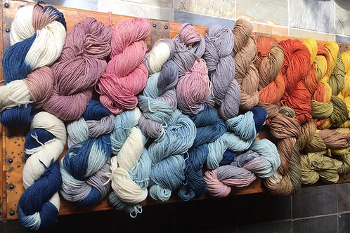 Calypso In Color 50/50 Worsted Natural Series Solids