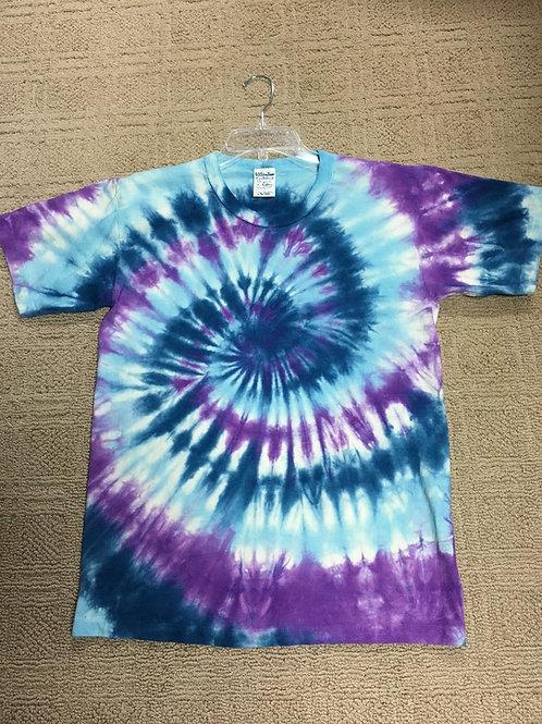 Adult Tie-Dye T-Shirt - Vivid Swirl Design