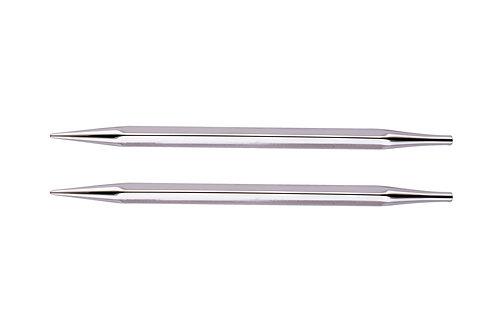 "US #6-9 NOVA CUBICS PLATINA IC Knittng Needles 4"" Special Length"