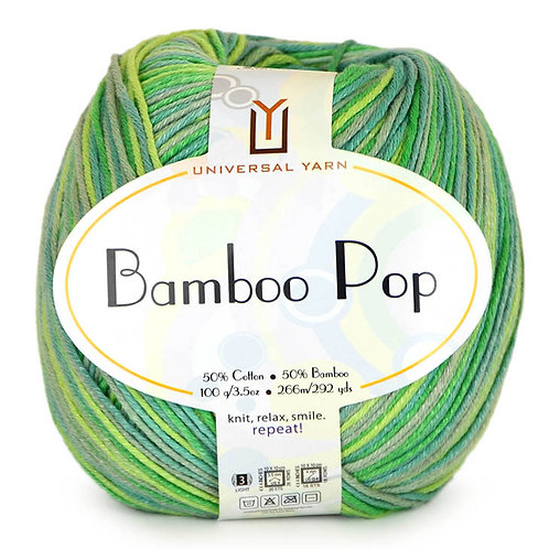 Bamboo Pop Variegated Colors