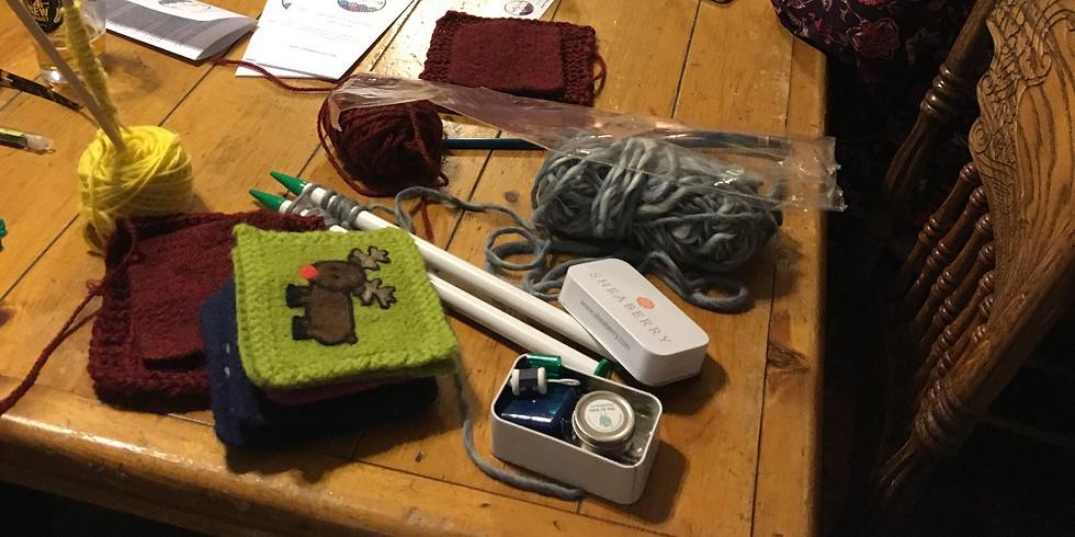 Knitting 102 at Grandma's House