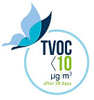 TVOC<10μg/m3