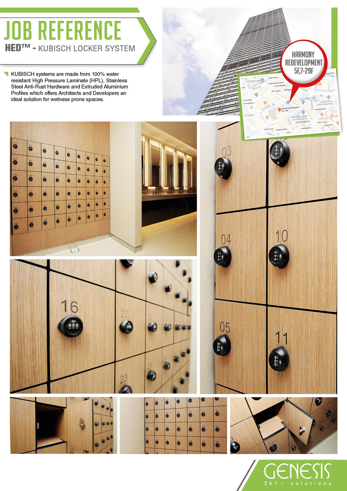 Fullscreen Page   Genesis Development   361° Architectural Solution