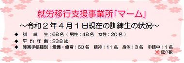 マーム通信2020.春号
